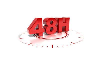 48 hour turnaround